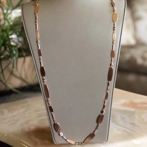 NWT Kendra Scott Claret Long Necklace